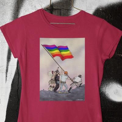 Iwo Jima Pride Flag