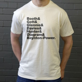 James Line-Up T-Shirt