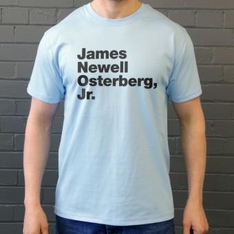 James Newell Osterberg Jr T-Shirt