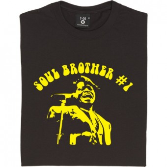 James Brown: Soul Brother Number One T-Shirt