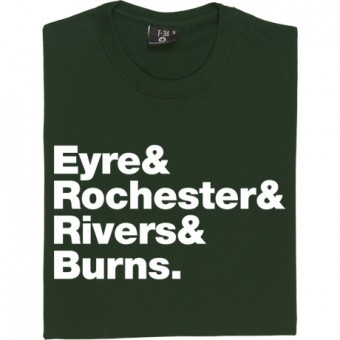 Jane Eyre Line-Up T-Shirt