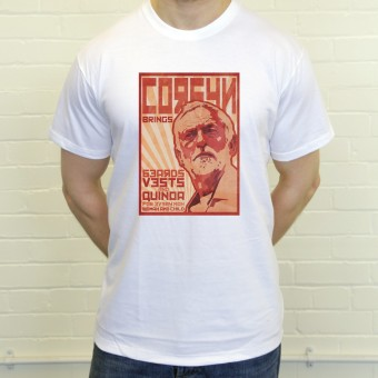 Jeremy Corbyn Poster T-Shirt