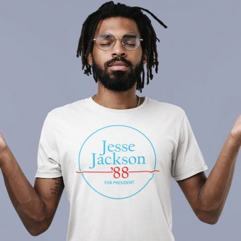 Jesse Jackson For President '88 T-Shirt