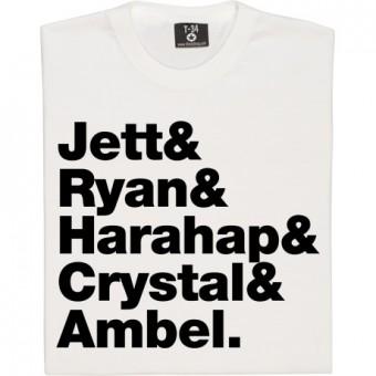 Joan Jett & The Blackhearts Line-Up T-Shirt