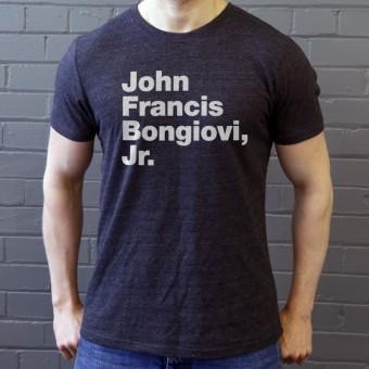 John Francis Bongiovi Jr T-Shirt