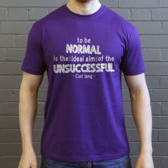 "Carl Jung ""Normal"" Quote T-Shirt"
