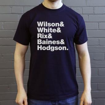 Kaiser Chiefs Line-Up T-Shirt