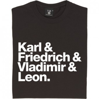 Karl and Friedrich and Vladimir and Leon T-Shirt