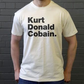 Kurt Donald Cobain T-Shirt