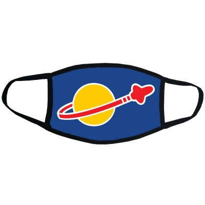 Space Logo Face Mask
