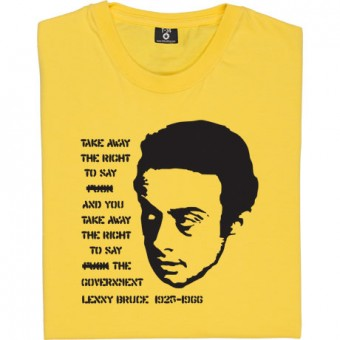 "Lenny Bruce ""Fuck the Government"" T-Shirt"