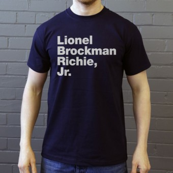 Lionel Brockman Richie Jr T-Shirt