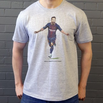 "Lionel Messi ""The Record Breaker"" T-Shirt"