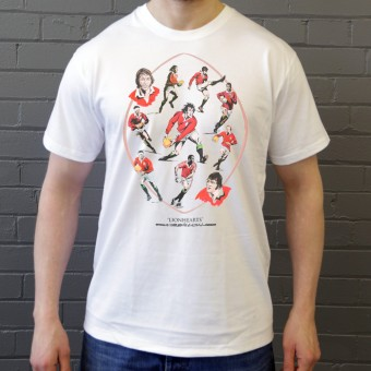 Lionhearts: British and Irish Lions Montage T-Shirt