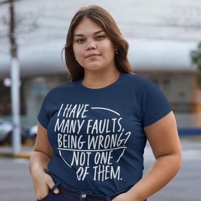I Have Many Faults