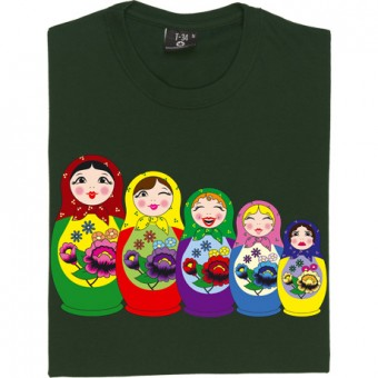 Matryoshka Dolls (Colour) T-Shirt