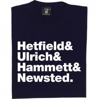 Metallica Line-Up T-Shirt