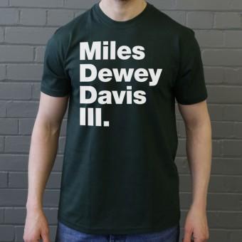 Miles Dewey Davis III T-Shirt