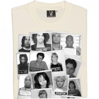 Modern Celebrity Mugshots T-Shirt