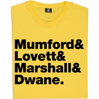Mumford & Sons Line-Up T-Shirt