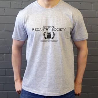 National Pedantry Society T-Shirt
