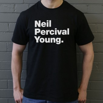 Neil Percival Young T-Shirt