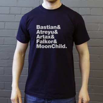 The Neverending Story Line-Up T-Shirt
