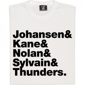 New York Dolls Line-Up T-Shirt