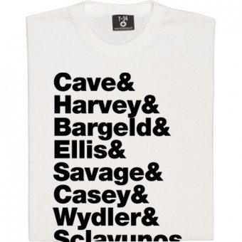 Nick Cave and the Bad Seeds Line-Up T-Shirt