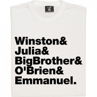 Nineteen Eighty-Four Line-Up T-Shirt
