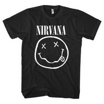 "Nirvana ""Smiley"" Officially Licenced T-Shirt"