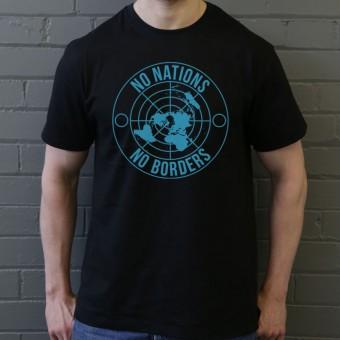 No Nations, No Borders T-Shirt