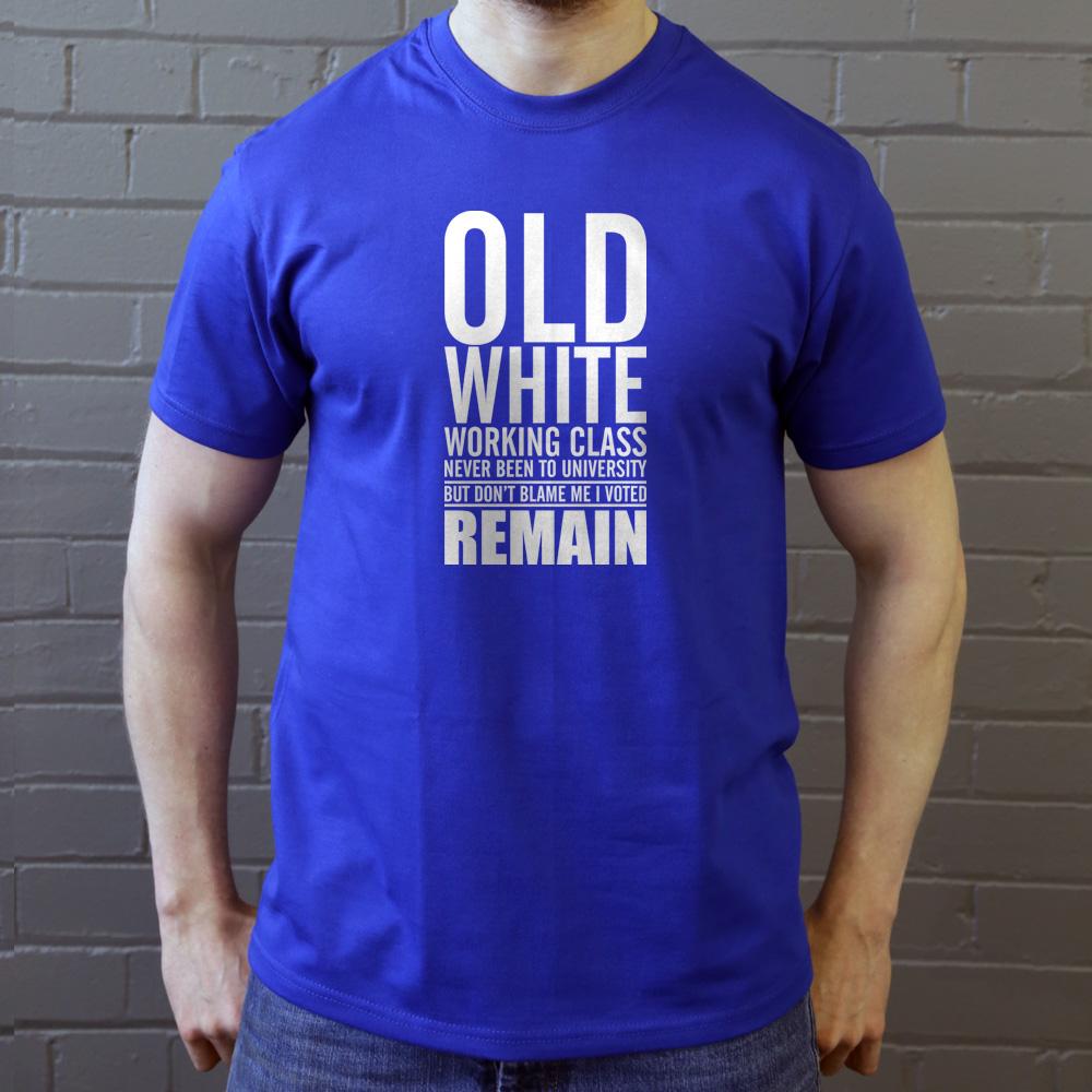 """J/'ai voté Congé T-shirt Asortie Europe référendumUERouge ou Blanc/"""""""