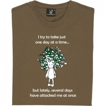 Several Days Have Attacked Me At Once T-Shirt
