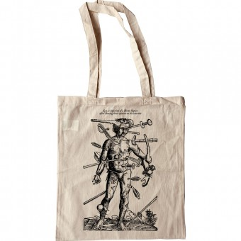 A Depiction Of A Homo Sapien After Sharing Their Opinion On The Internet Tote Bag