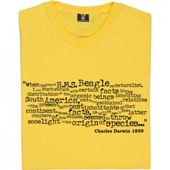 On The Origin Of Species Opening Lines T-Shirt