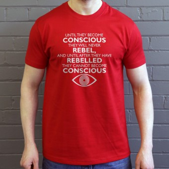 "George Orwell ""Conscious"" Quote T-Shirt"
