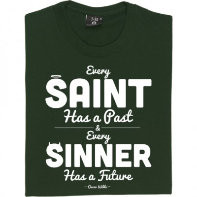 "Oscar Wilde ""Saint and Sinner"" Quote"