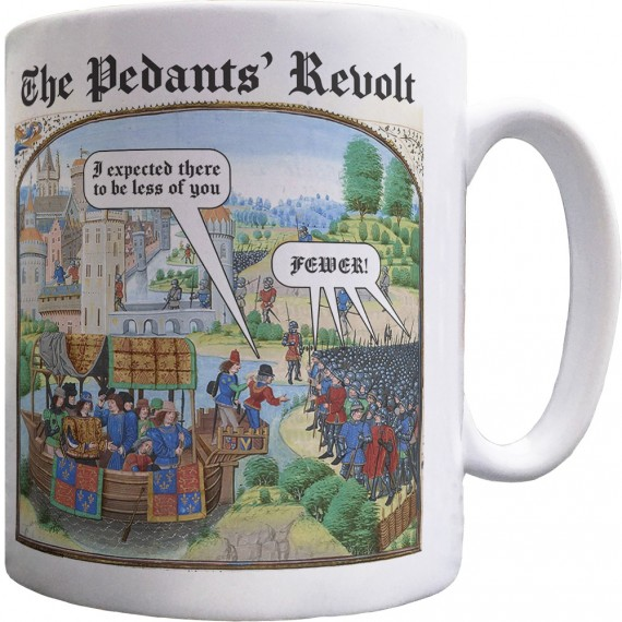 The Pedants' Revolt Ceramic Mug