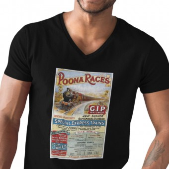 Poona Races Railway T-Shirt
