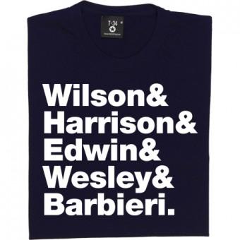 Porcupine Tree Line-Up T-Shirt