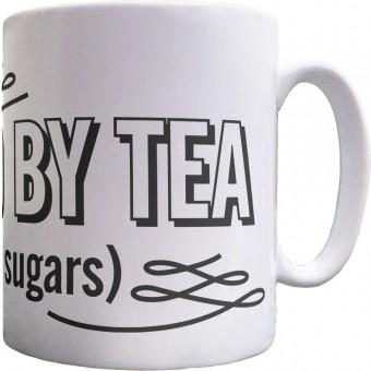 Powered By Tea Ceramic Mug