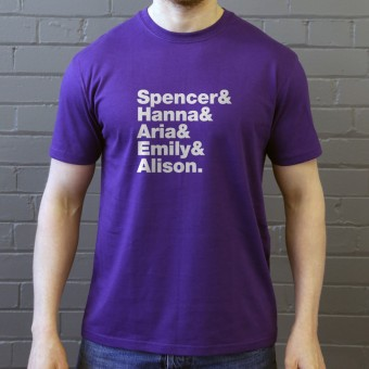 Pretty Little Liars Line-Up T-Shirt