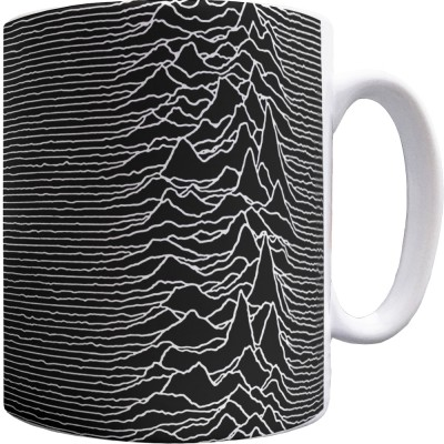 CP1919 Pulsar Pattern Mug