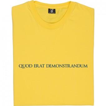 Q.E.D. T-Shirt