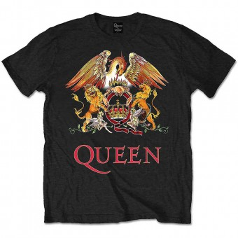 """Queen """"Crest"""" Officially Licenced T-Shirt"""