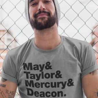 Queen Line-Up T-Shirt