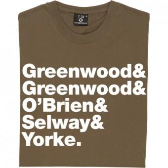 Radiohead Line-Up T-Shirt