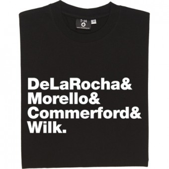 Rage Against The Machine Line-Up T-Shirt