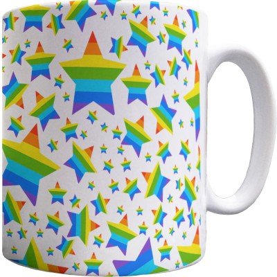 Star Scatter Pattern Mug